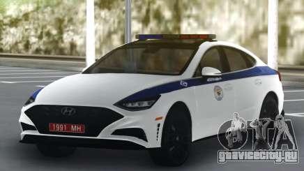 Hyundai Sonata Turbo Police для GTA San Andreas