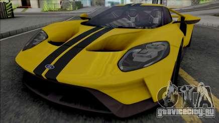 Ford GT (SA Lights) для GTA San Andreas