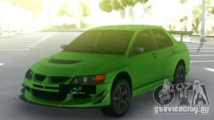 Mitsubishi Lancer Evo IX 06 для GTA San Andreas