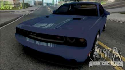 Dodge Challenger RT 2012 для GTA San Andreas