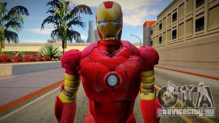 Iron Man Skin HQ для GTA San Andreas