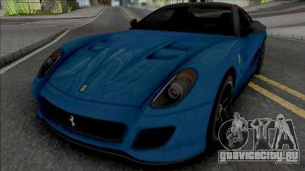 Ferrari 599 GTO [Fixed] для GTA San Andreas