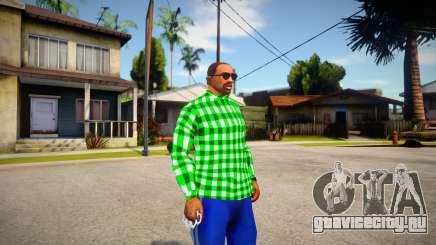 Green shirt для GTA San Andreas
