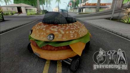 Burger Shot Bunmobile для GTA San Andreas