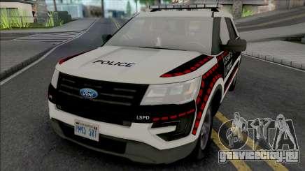 Ford Explorer 2016 Bosnian Livery Style для GTA San Andreas