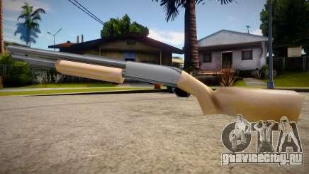 Chromegun HD (good textures) для GTA San Andreas