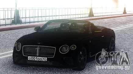Bentley Continental GT Number 1 Edition 19 для GTA San Andreas