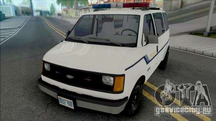Chevy Astro 1988 Fort Carson Police Department для GTA San Andreas