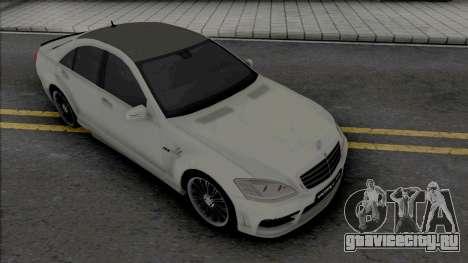 Mercedes-Benz S-Class W221 WALD Black Bison для GTA San Andreas