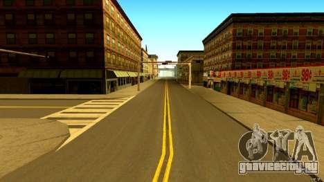 Real Roads and GTA IV Textures для GTA San Andreas