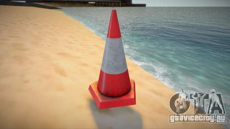 HQ Traffic Cone для GTA San Andreas