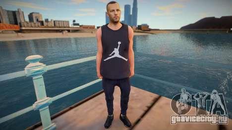 Jordan Skin для GTA San Andreas