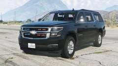 Chevrolet Suburban LTZ 2015〡Secret Service〡add-on v1.1 для GTA 5