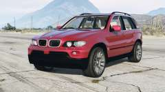 BMW X5 4.8is (E53) 2005 v1.1 для GTA 5