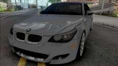 BMW M5 E60 2009 (SA Lights) для GTA San Andreas