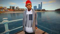 Lil Wayne Skin для GTA San Andreas