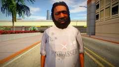 Бомж из GTA 5 v10 для GTA San Andreas