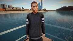 Sergio Ramos Skin для GTA San Andreas