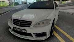 Mercedes-Benz S-Class W221 WALD Black Bison
