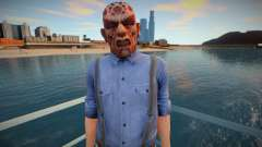 Dude in scary mask from DLC Halloween GTA Online для GTA San Andreas