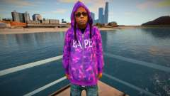 Lil Wayne v2 для GTA San Andreas