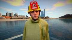 Новый пожарный Los Santos для GTA San Andreas