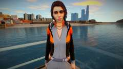 Zoe Castillo Skin для GTA San Andreas