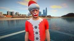 Christmas ped from GTA Online для GTA San Andreas