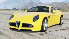 Alfa Romeo 8C Competizione 2008〡add-on v1.1 для GTA 5