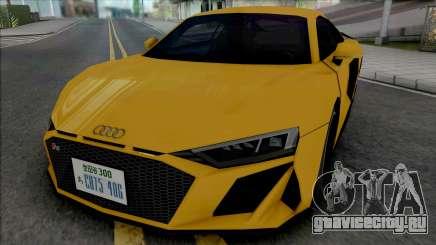 Audi R8 V10 2019 (SA Style) для GTA San Andreas