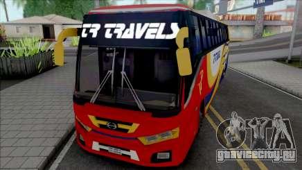Hino AK1J non AC Bus [IVF] для GTA San Andreas