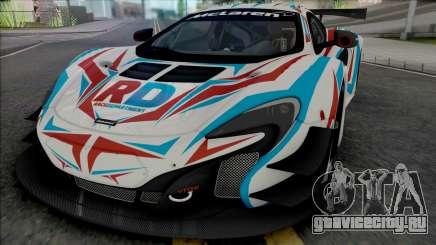 McLaren 650S GT3 [HQ] для GTA San Andreas