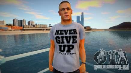John Cena tee shirt для GTA San Andreas