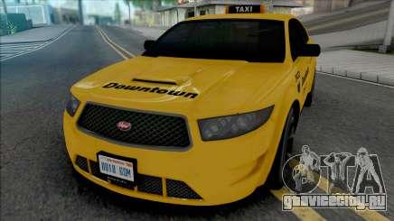 Vapid Torrence Taxi Downtown для GTA San Andreas