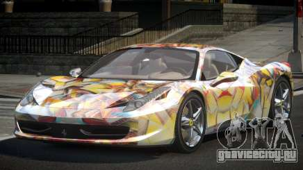Ferrari 458 U-Style S10 для GTA 4