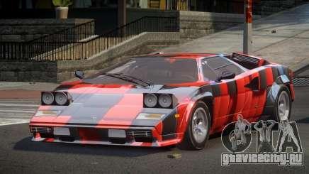 Lamborghini Countach U-Style S4 для GTA 4