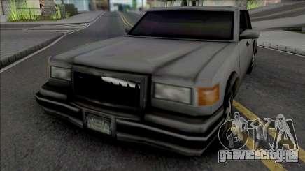 Unmarked Beta Sedan Vehicle для GTA San Andreas