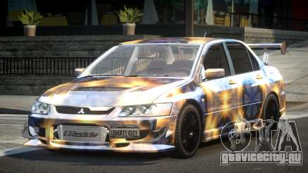 Mitsubishi Lancer Evolution VIII GST-R S2 для GTA 4