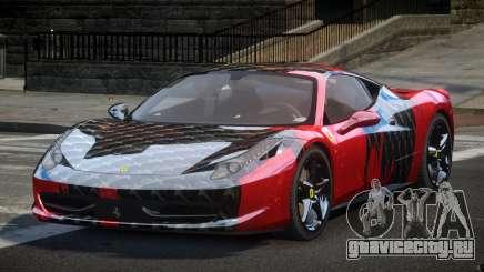Ferrari 458 U-Style S5 для GTA 4
