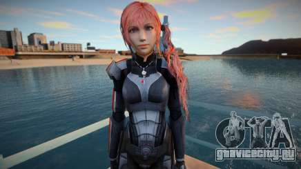 Serah N7 Mass Effect для GTA San Andreas