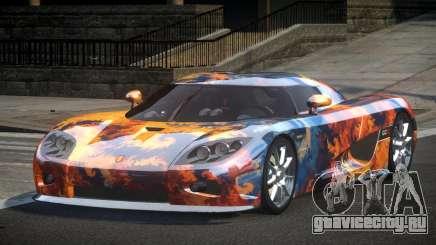 Koenigsegg CCX GST-R S8 для GTA 4