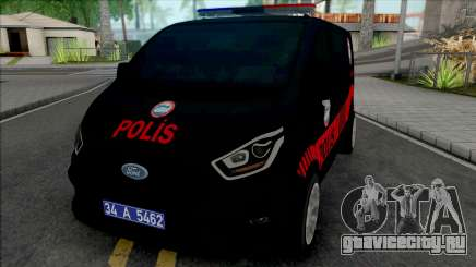 Ford Transit 2018 Police Dolphin Force для GTA San Andreas