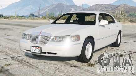 Lincoln Town Car Signature L 2000〡add-on v2.0 для GTA 5