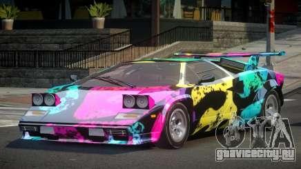 Lamborghini Countach U-Style S3 для GTA 4
