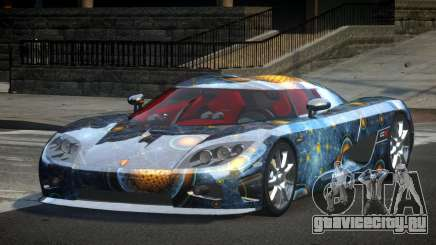 Koenigsegg CCX GST-R S7 для GTA 4