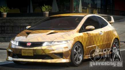Honda Civic PSI-U L8 для GTA 4