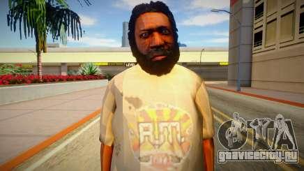 Бомж из GTA 5 v7 для GTA San Andreas