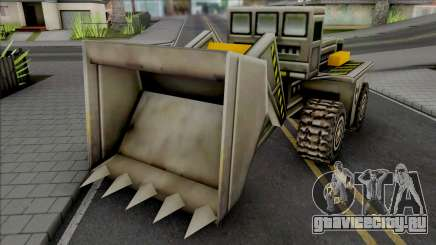 C&C Generals Construction Dozer для GTA San Andreas