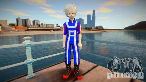 MHA Katsuki Bakugo (Gym Outfit) для GTA San Andreas