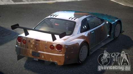 Nissan Skyline R34 US S10 для GTA 4